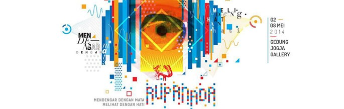 Dechapoe Schedule - Rupa Nada Group Exhibition with Jogja Forcercen