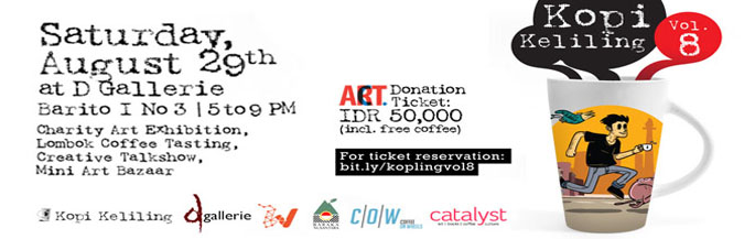 Icha Dechapoe Event Schedule - Charity Art Exhibition With Kopi Keliling 8