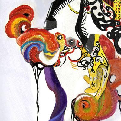 Kalimantan Painting For Interior Hotel Horison Samarinda