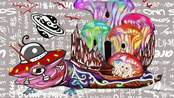 Noi Siamo Uno Painting By Dechapoe - Unity In Diversity