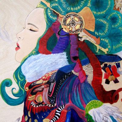 Opera Queen - Painting