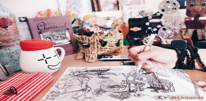 Dechapoe News – Sketching For Culture and Coffee Story Artwork