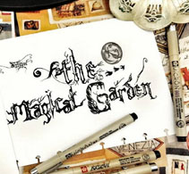 Magical Garden Blog Design
