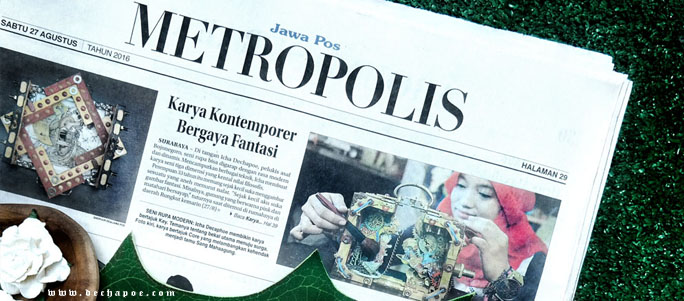 Icha Dechapoe Featured On Jawa Pos Metropolis